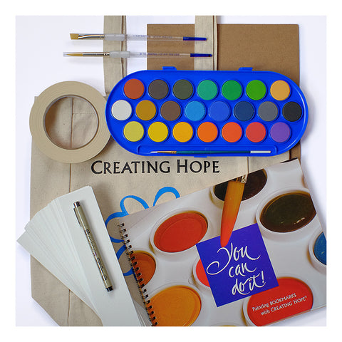 Creating Hope Watercolor HOPE Kit