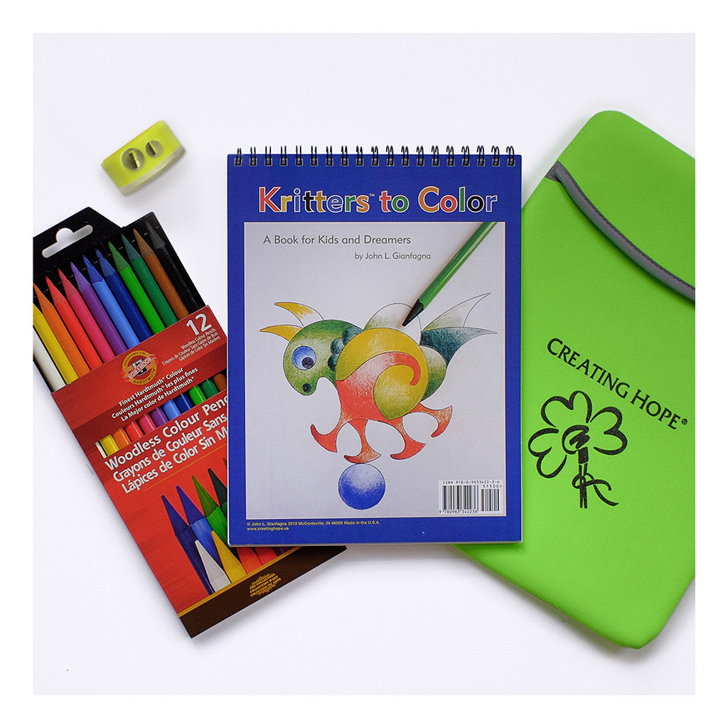 Creating Hope Kritters Coloring HOPE Kit