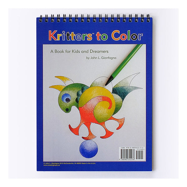 Creating Hope Kritters to Color
