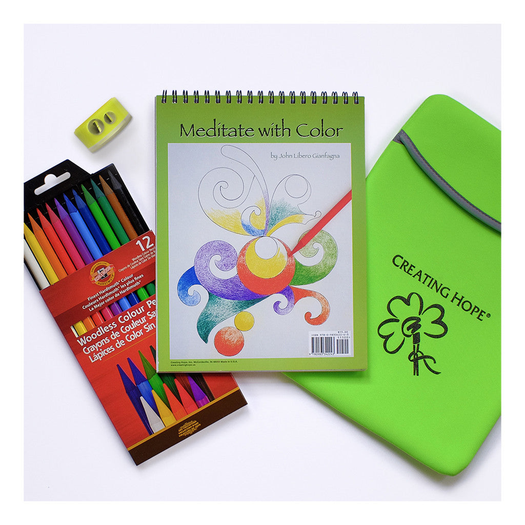 Creating Hope Meditation Coloring HOPE Kit