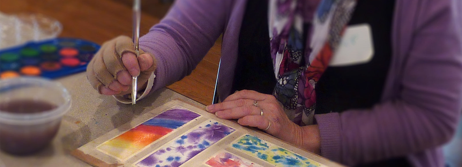 Helping people cope with cancer through self-expression and creativity...