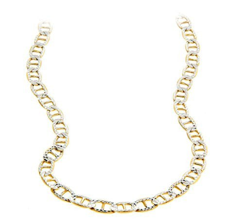 Mariner Chain Two-Toned 14K Gold over .925 Sterling Silver