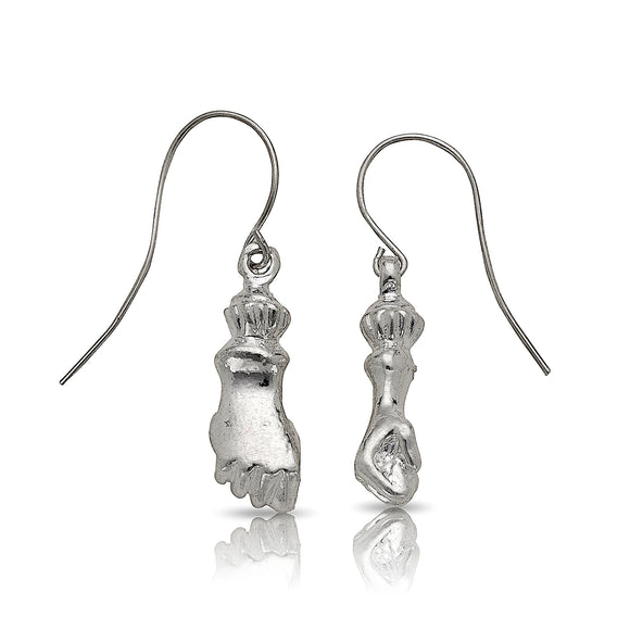 Fist earrings .925 Sterling Silver - Betterjewelry