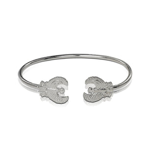 .925 Sterling Silver Phoenix West Indian bangle - Betterjewelry