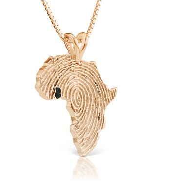 African Ancestry Ghana Heirloom Pendant Black - Betterjewelry