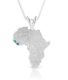 African Ancestry Guinea-Bissau and Sierra Leone Heirloom Pendant - Betterjewelry