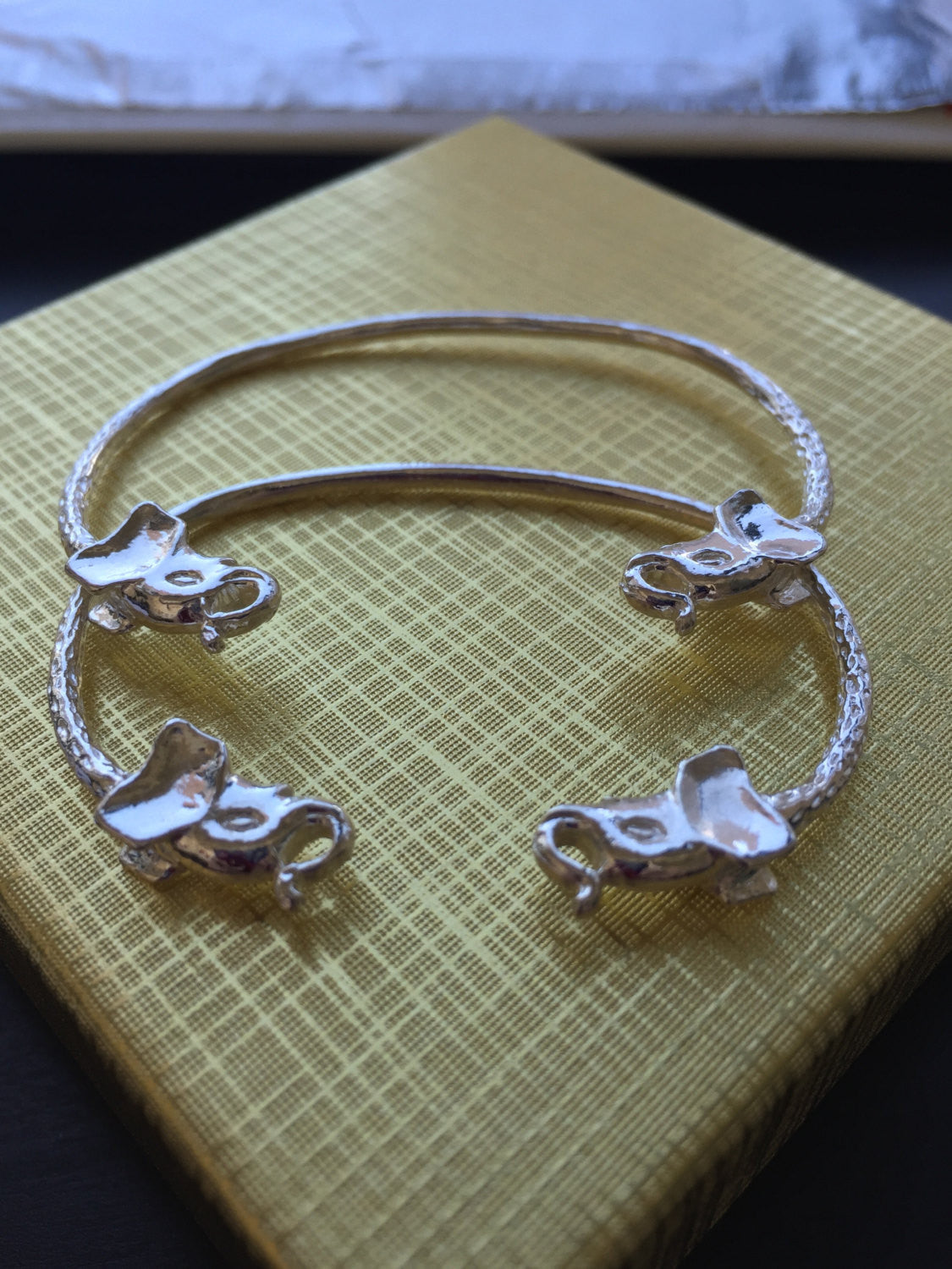 Elephant 925 Sterling Silver West Indian Baby Bangles Betterjewelry
