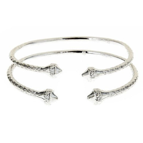 Elegant Ends .925 Sterling Silver West Indian BABY Bangles