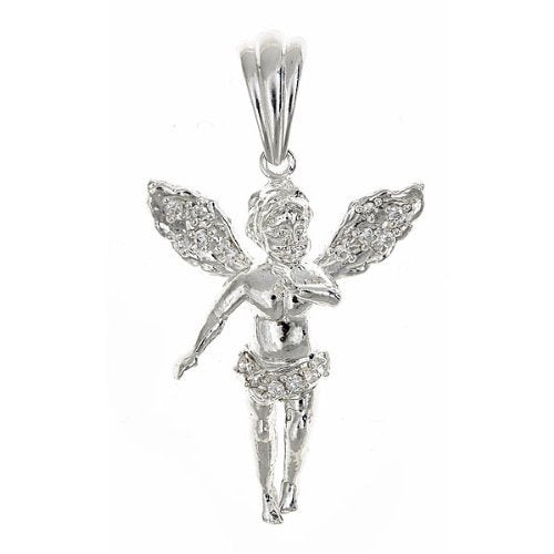 St. Michael Religious Pendant .925 Sterling Silver 5.8 Grams