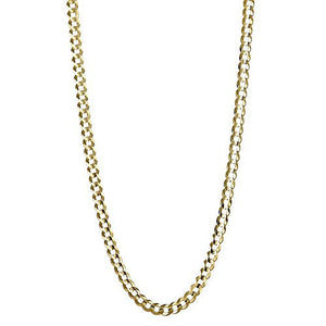 10K Yellow Gold Italian Cuban Chain (7.2 GRAMS) - Betterjewelry