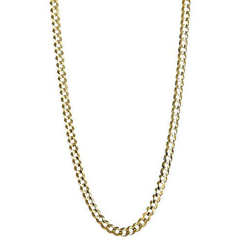 10K Yellow Gold Italian Cuban Chain (7.2 GRAMS)