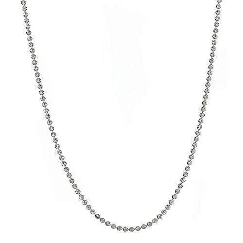 Sterling Silver .925  Moon-Cut Chain (10.5 grams)