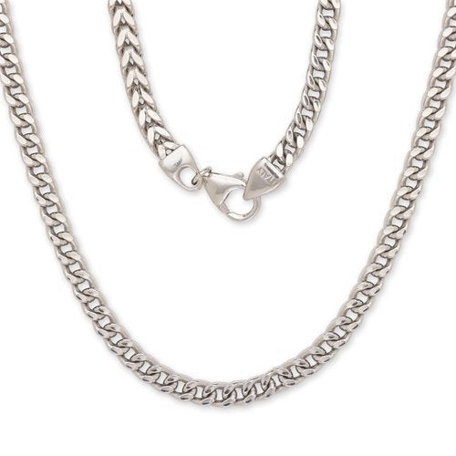 Franco Italian Chain .925 Sterling Silver Chain / 5 mm - Betterjewelry