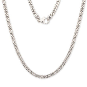 Franco Italian Chain .925 Sterling Silver Chain / 3.5 mm - Betterjewelry