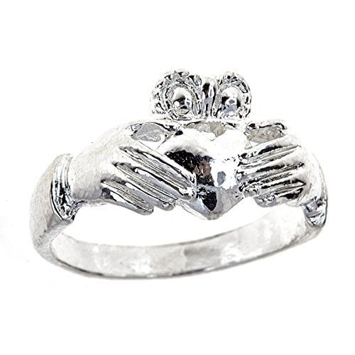 Claddagh Ring .925 Sterling Silver
