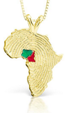 African Ancestry Nigeria and Cameroon Heirloom Pendant - Betterjewelry