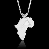 African Ancestry Sierra Leone and Liberia Heirloom Pendant - Betterjewelry