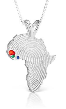 African Ancestry Senegal, Guinea-Bissau and Sierra Leone Heirloom Pendant - Betterjewelry