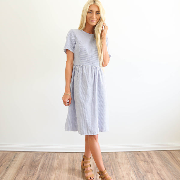 Dailia Seersucker Dress