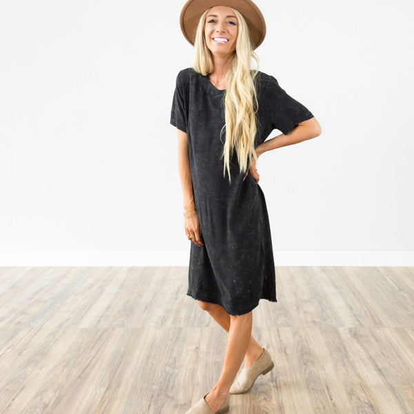 Rosalyn Dress in Black