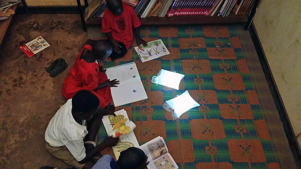 Notes from the Field: LuminAID Lights Up Gulu Primary School in Uganda