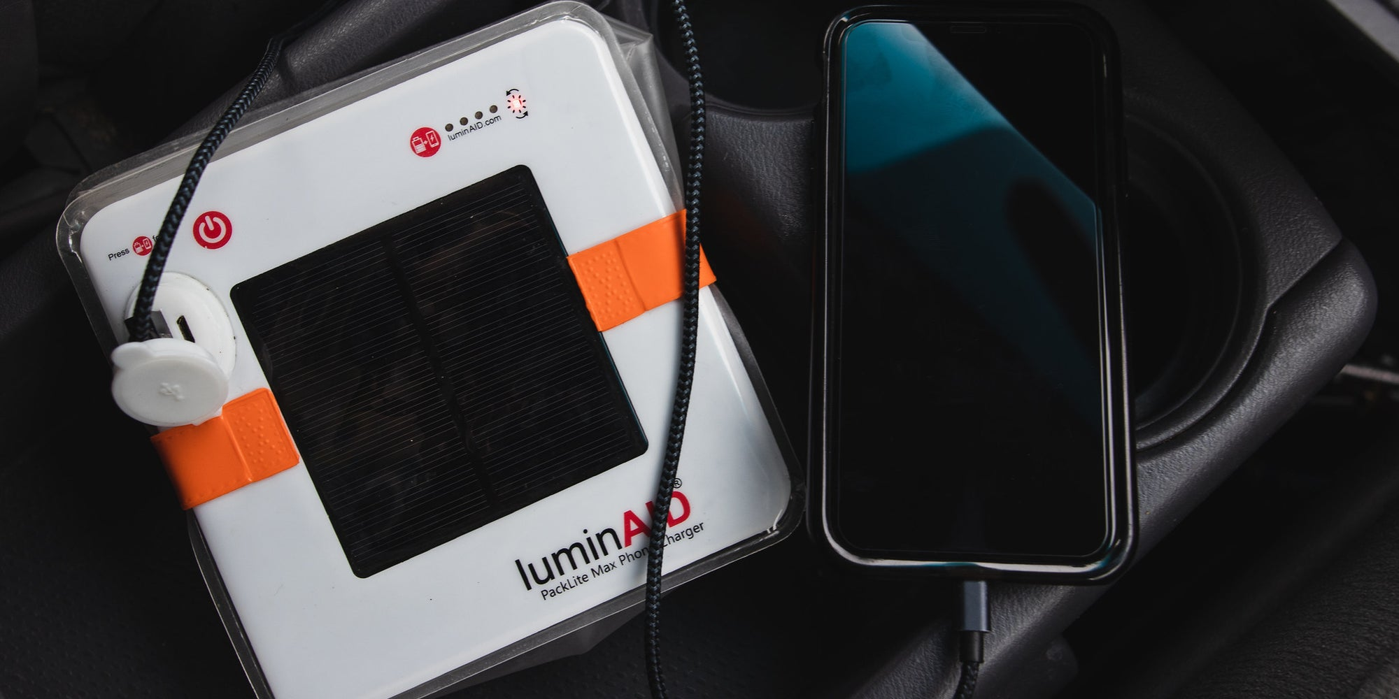 Where Is Your LuminAID 2-in-1 Phone Charger When The Lights Go Out?