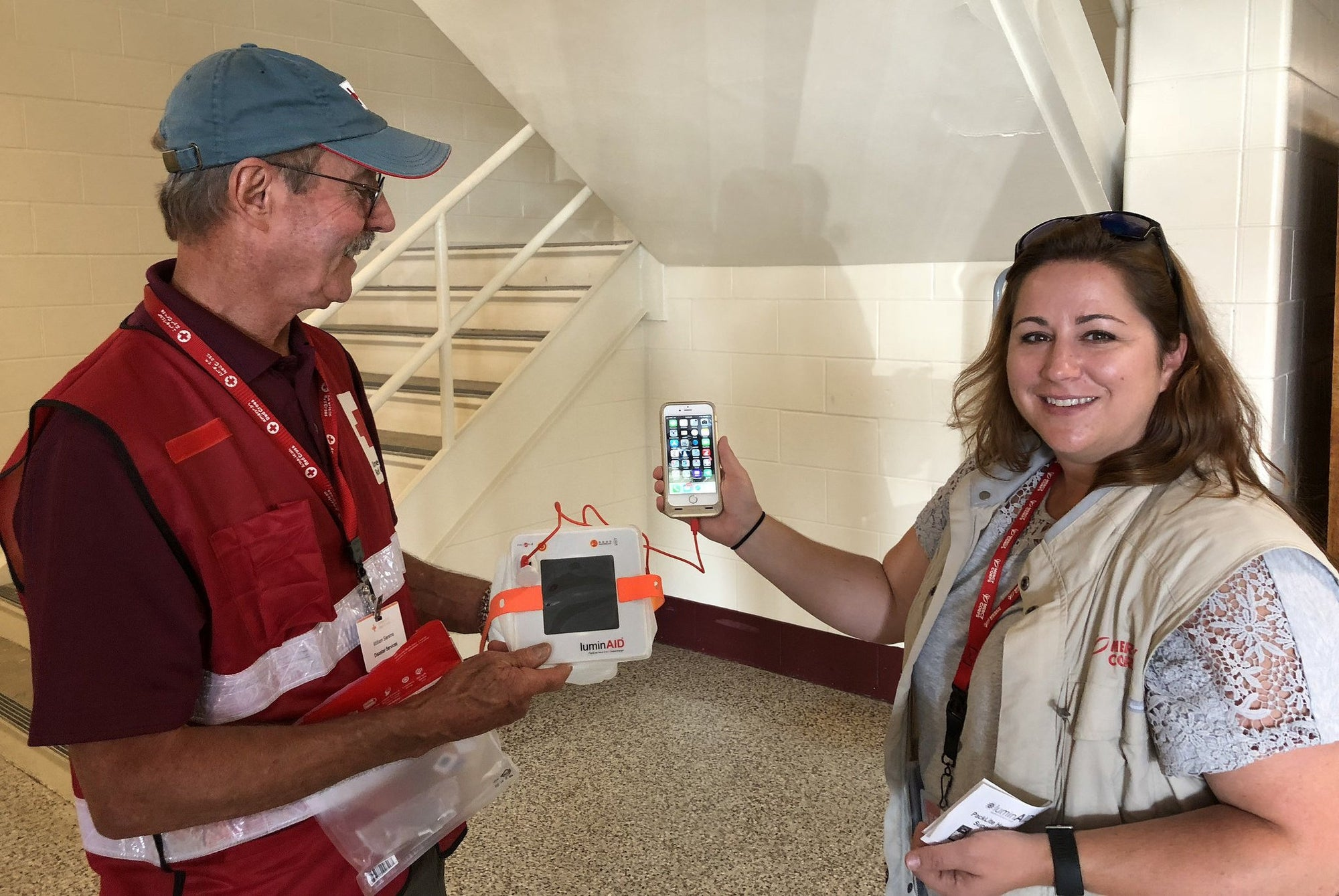 Solar Light and Power After the Storm: Mercy Corps Responds to Hurricane Florence-LuminAID