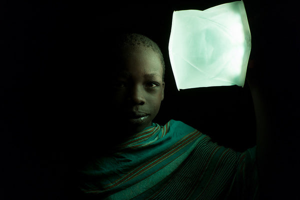 Students for Africa distribute LuminAID lights in Tanzania