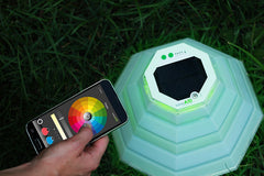 LuminAID's New Smart Home Line of Solar Garden Lights