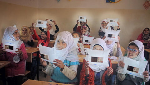 Karam Foundation Gives LuminAID Solar Light to Syrian Refugees