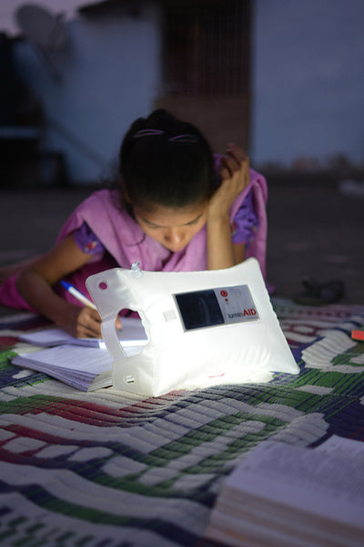 Responsible Charity LuminAID education