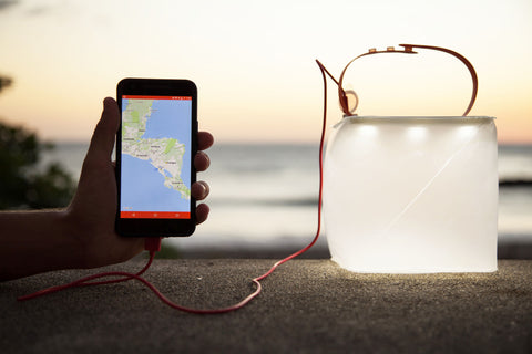 LuminAID solar phone charger and lantern
