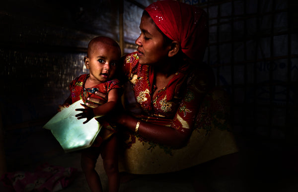 Solar light breaks down barriers for women and girls