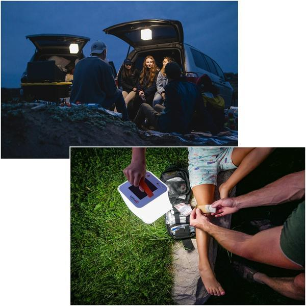 LuminAID lights are perfect for outdoor adventures.