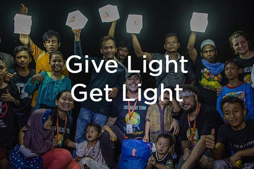 Give Light, Get Light