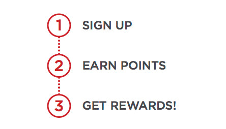 Earn points with Lumen Rewards