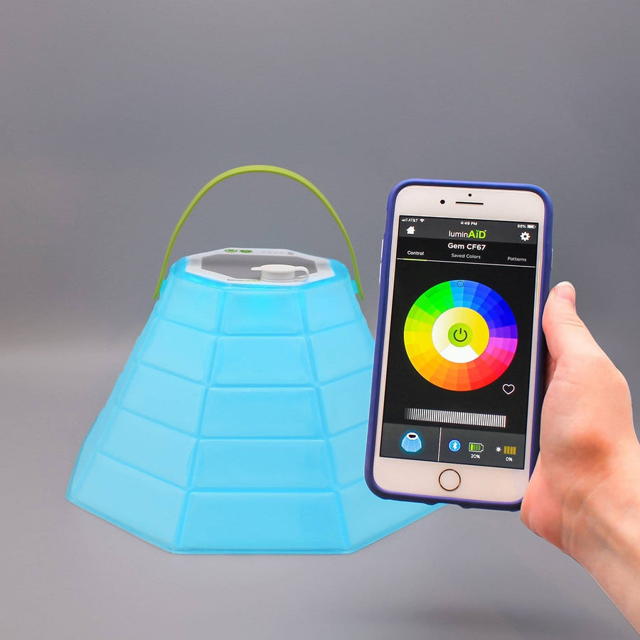 LuminAID Solar Lanterns and Solar 2-in-1 Phone Chargers