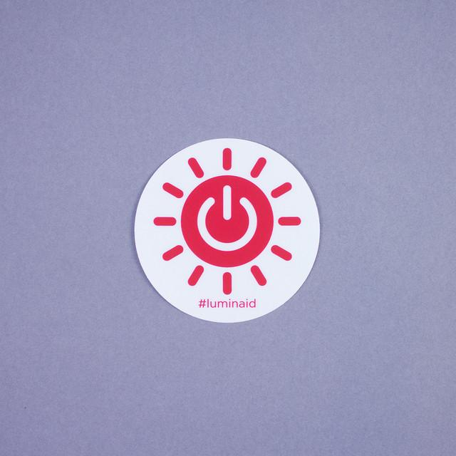 Luminaid Sticker