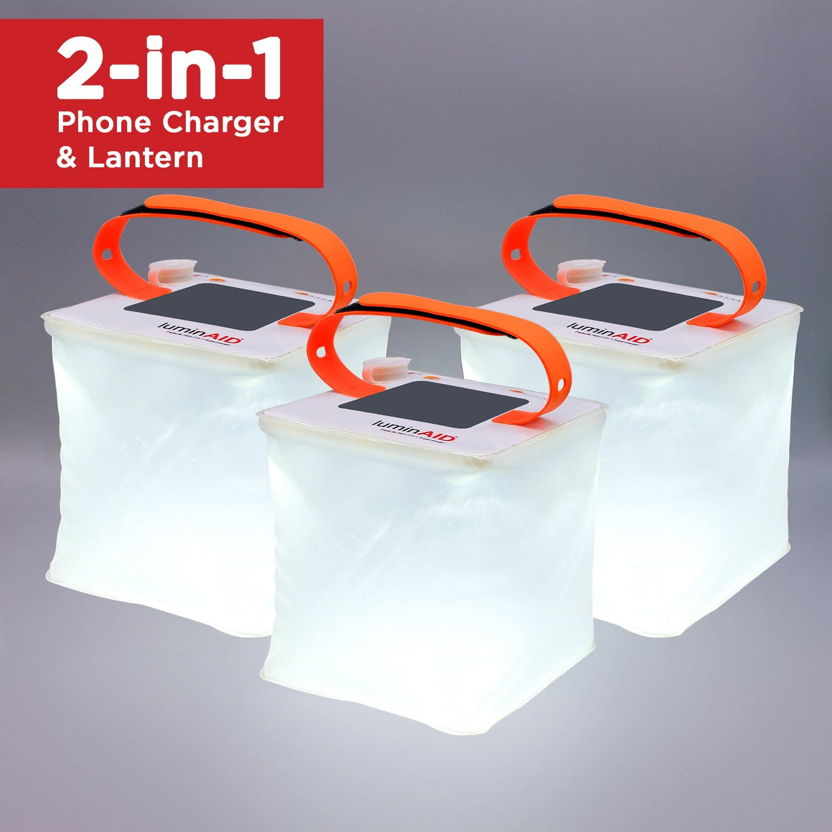 PackLite Hero 2-in-1 Supercharger - 3 Pack