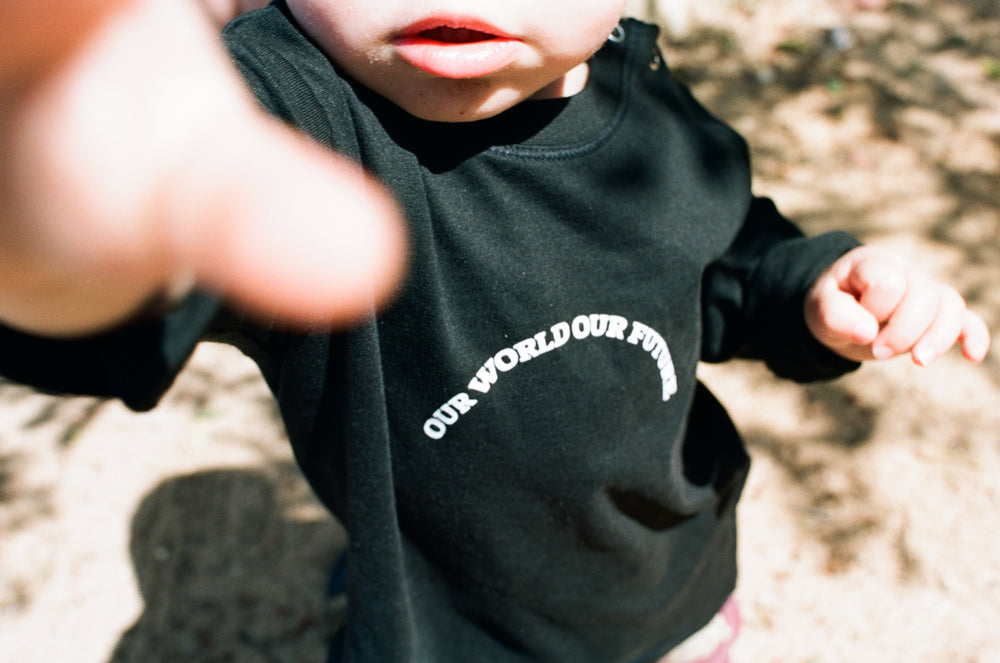 Our World Our Future (kids long sleeve)
