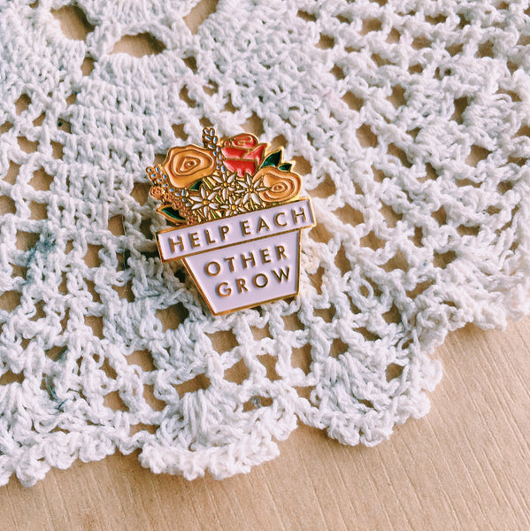 Help Each Other Grow // pin