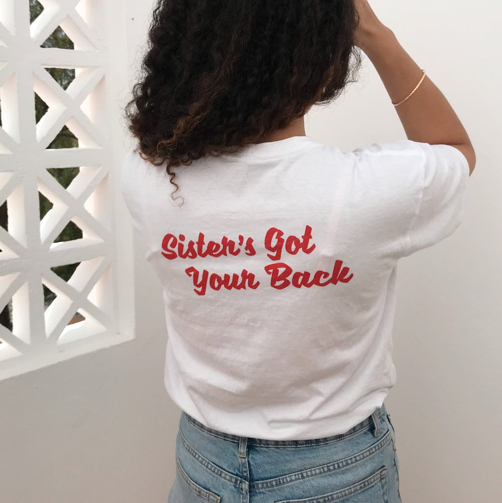 Sister's Got Your Back (white)