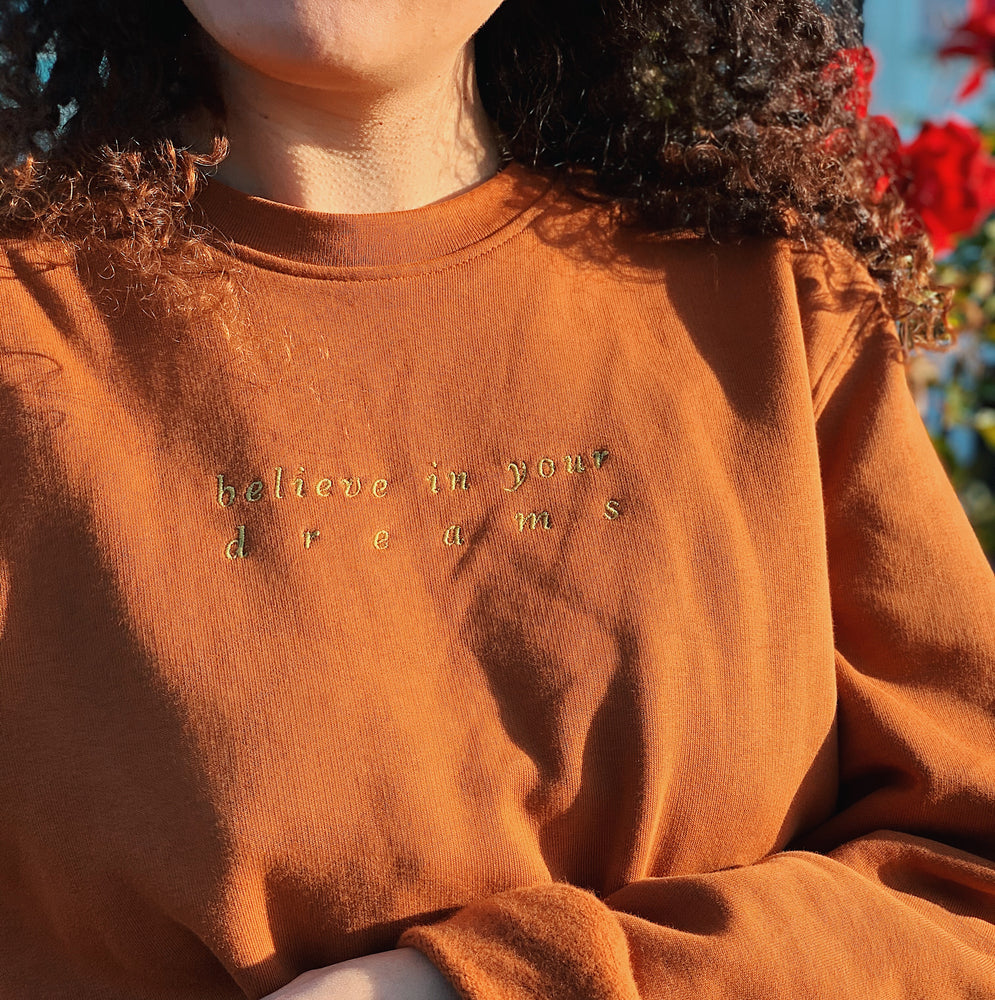 Believe in your dreams // sweatshirt