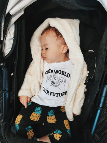 Our World Our Future (kids white)