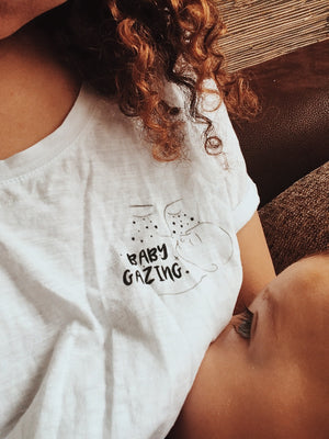 Load image into Gallery viewer, Baby Gazing (tee)