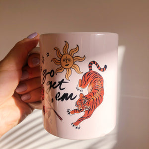 Load image into Gallery viewer, Go Get Em Tiger (mug)