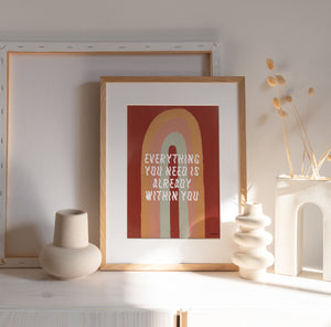Load image into Gallery viewer, 'Everything You Need' Art Print