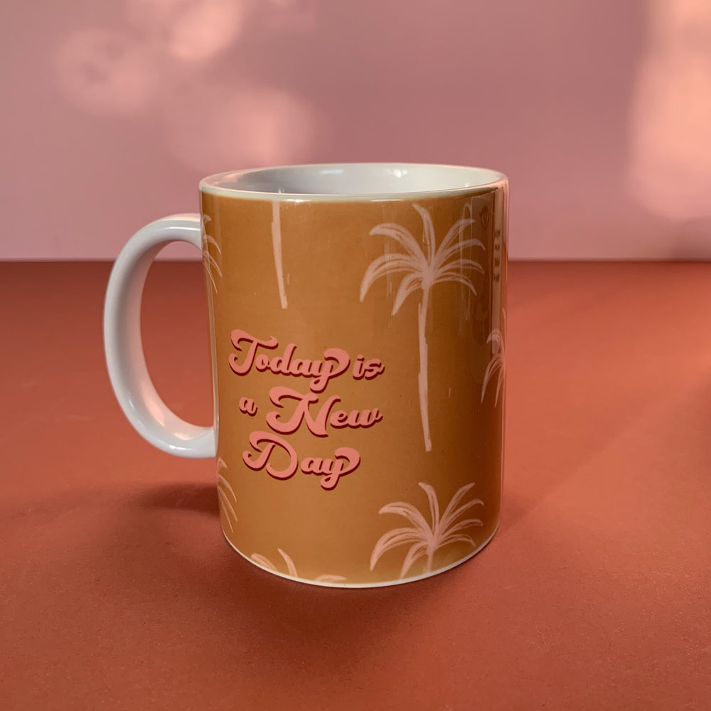 Today Is A New Day (mug)