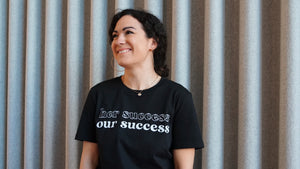 Her Success Our Success - black