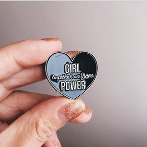 Girl Power (pin)
